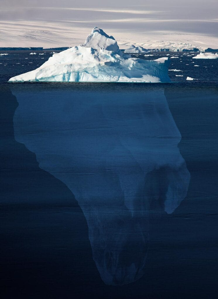 Kinesiologist Melbourne - Iceberg Underwater