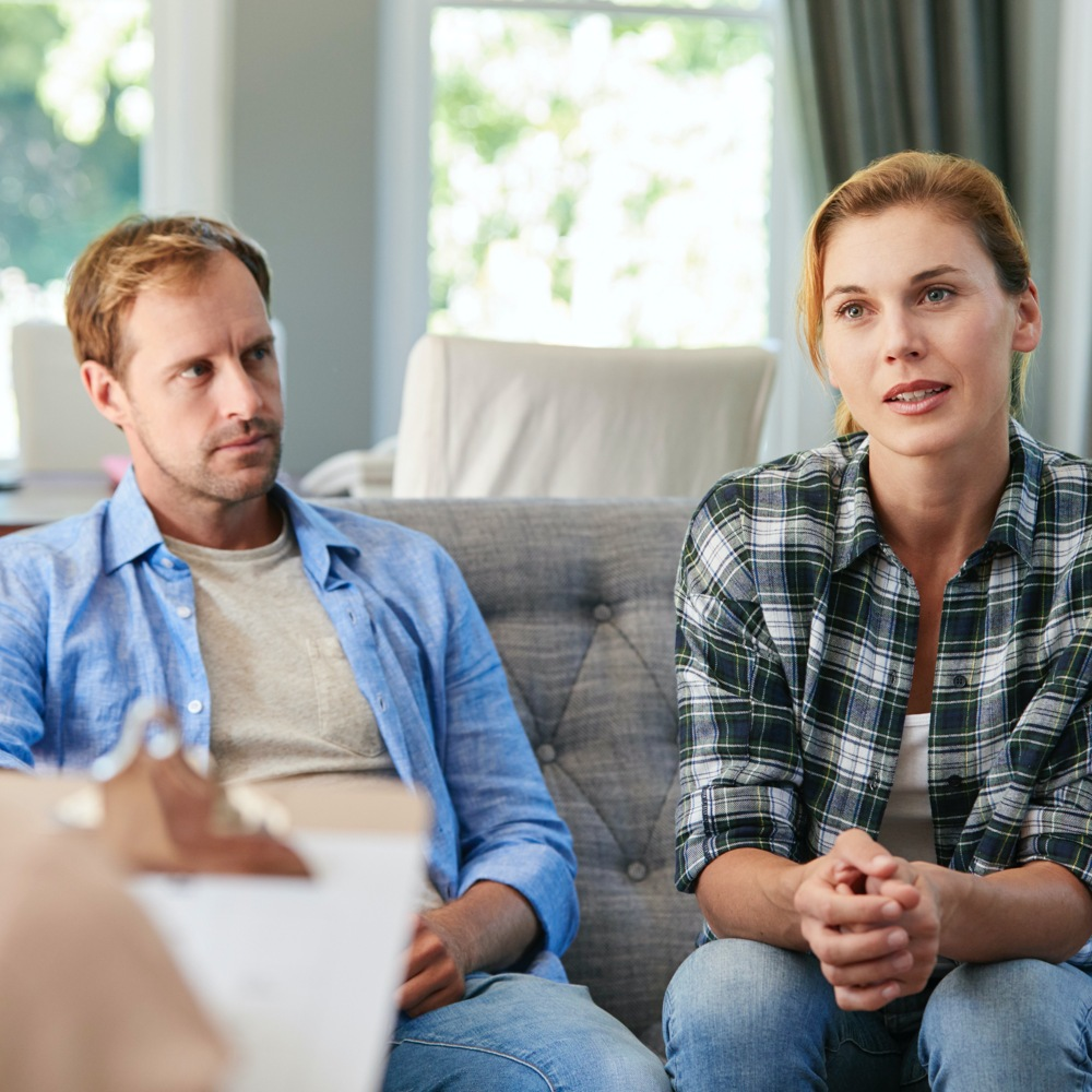 Marriage Counselling Australia - Married Couple in Counselling Session