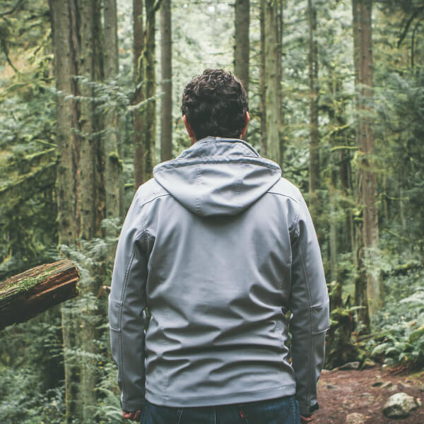 Online Counselling Melbourne - Man in Forest